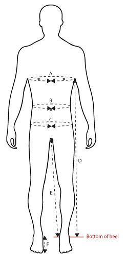 Storlekstabell Guideline Kläder Och Vadare